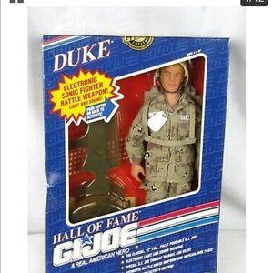 DUKE Vintage 1990's G.I.Joe Hall of Fame